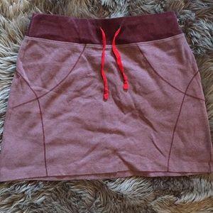 Columbia Omni-wick sweatshirt style skirt MED